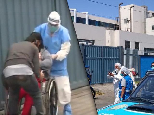 Esta es la situación que se vive a diario en el Hospital Negreiros del Callao