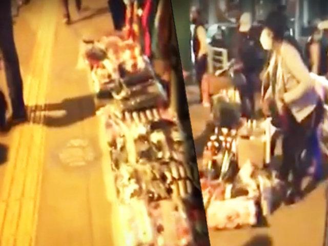 Villa el Salvador: ambulantes convierten estación del tren en mercado