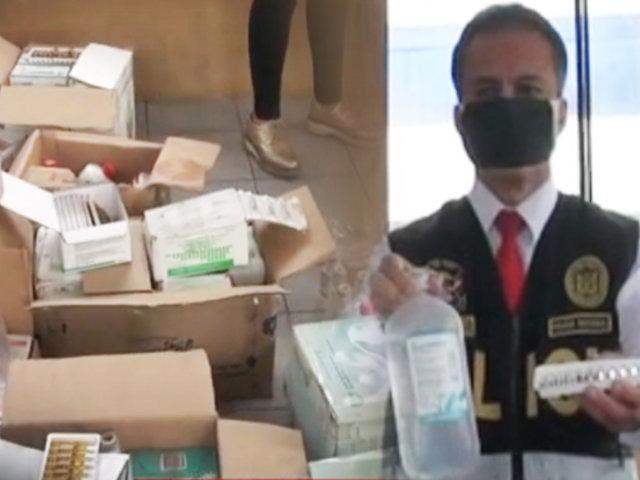 San Juan de Lurigancho: hallan medicinas vencidas en local de serenazgo