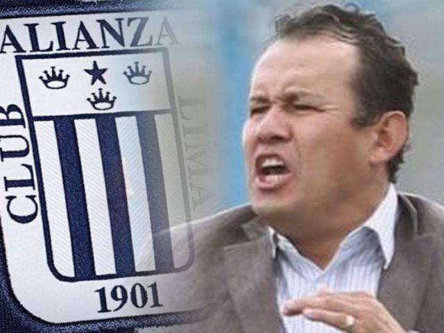 """Juan Reynoso: """"Me gustaría dirigir a Alianza Lima"""""""