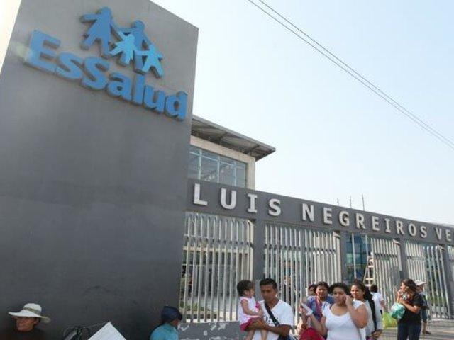 Familia denuncia que gastó hasta mil soles diarios en medicinas pedidas por hospital Negreiros