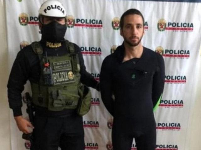 San Bartolo: Medallista de Lima 2019 es detenido por surfear y no respetar aislamiento