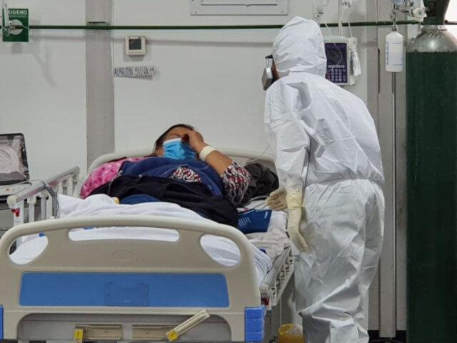 Villa Mongrut: complejo hospitalario empezó a recibir pacientes con coronavirus