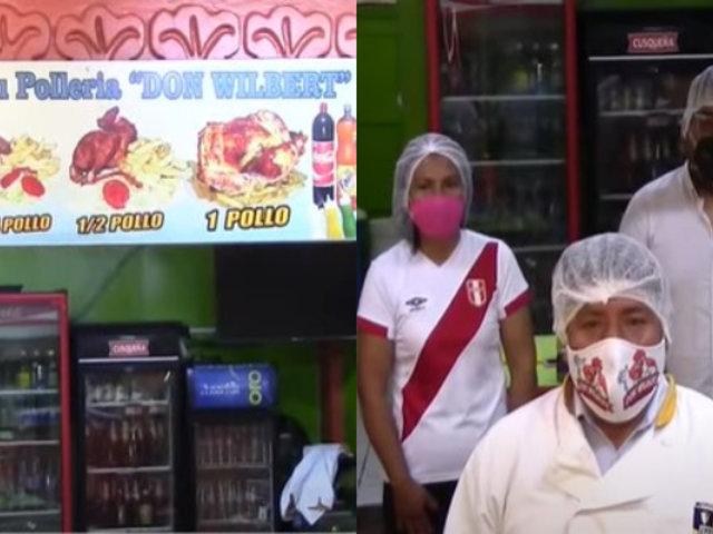 Cusco: dueño de pollería regala pollos a la brasa sus vecinos
