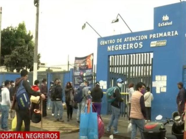 Hospital Negreiros: pacientes con COVID-19 son trasladados a Villa Mongrut