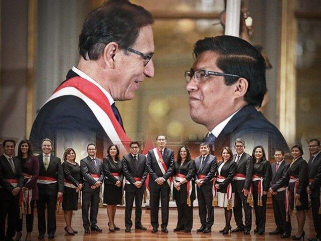 Congreso decidió otorgar el voto de confianza al gabinete Zeballos