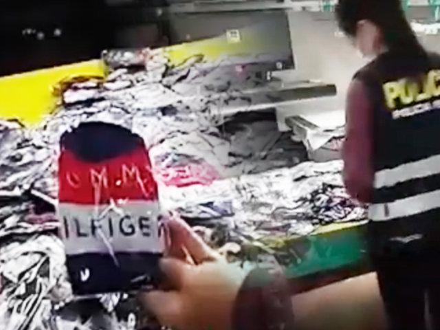 La Victoria: intervienen taller clandestino de mascarillas de dudosa procedencia