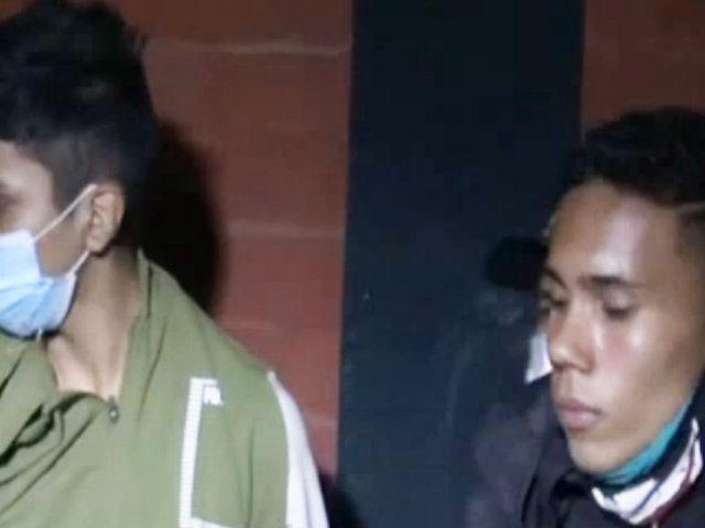 """SJL: PNP captura a dos """"raqueteros"""" que asaltaron a repartidor"""