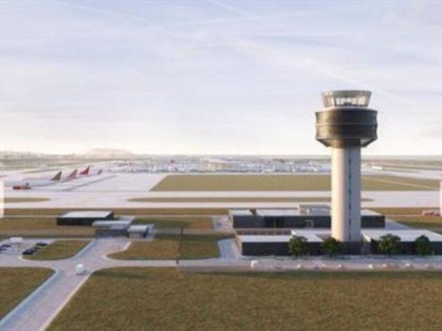 Aeropuerto internacional Jorge Chávez iniciará construcción de nueva torre de control