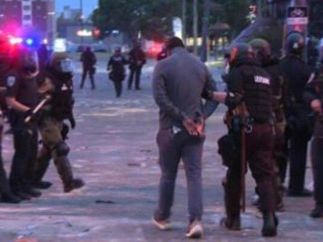 EEUU: detienen a equipo de cadena de noticias que cubría protesta en Minneapolis