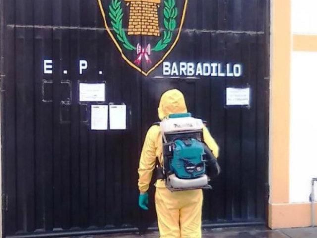 Covid-19: Inpe dispuso desinfección en ambientes del penal de Barbaillo en Ate