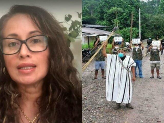 """Elizabeth Zea: """"No hay presupuesto para focalizar acciones a favor de pueblos indígenas"""""""