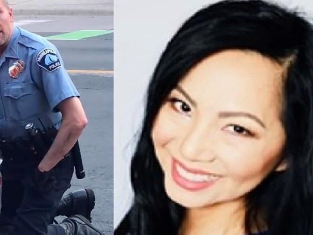 Derek Chauvin: esposa del policía acusado por muerte de George Floyd le pide el divorcio
