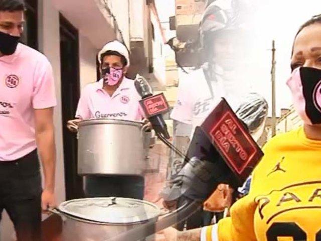 """La más sabrosa olla común a la """"Chalaca"""" en tiempos de pandemia"""
