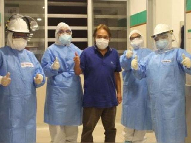 Médico cirujano venció al coronavirus tras permanecer 15 días en UCI