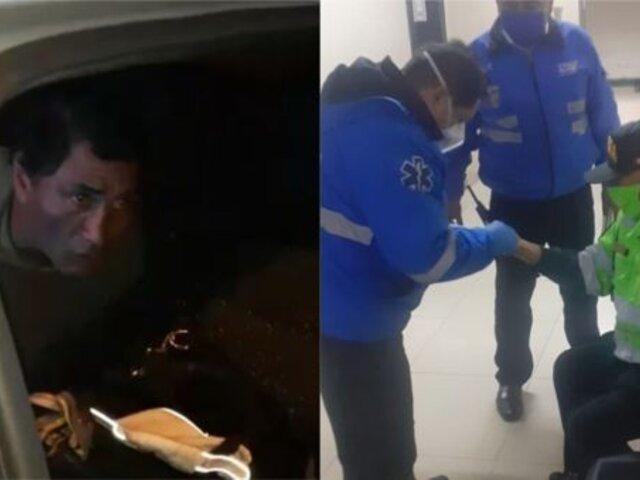 Miraflores: sujeto es detenido por incumplir toque de queda y agredir a serenos