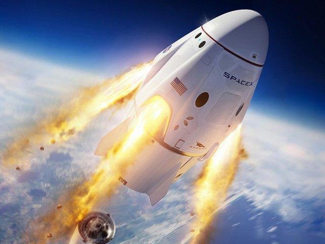 Space X: la cápsula Crew Dragon llegó a Estación Espacial Internacional