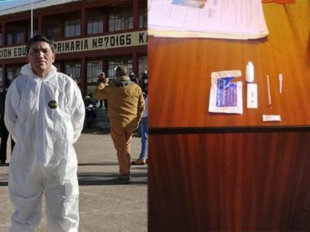 Puno: envían a prisión a biólogo que vendía pruebas del Minsa
