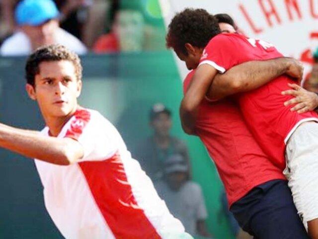 """Federación de Tenis del Perú: """"Por ahora se mantiene fecha de Copa Davis"""""""