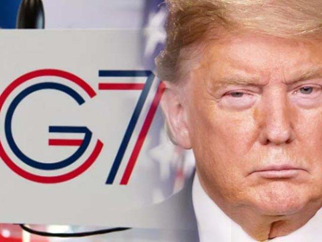 Donald Trump anuncia que aplazará la cumbre del G7
