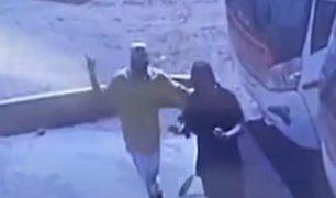 Trujillo: capturan delincuentes que asaltaron empresa de transportes