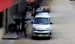 Cañete: asaltan a conductor y pasajeros de miniván en 30 segundos