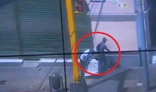 Cercado de Lima: capturan a ladrones que robaron en tienda de telefonía