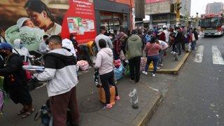 La Victoria: ambulantes vuelven a instalarse en la avenida Grau y Manco Cápac