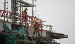 Sector construcción: 90 mil obreros retornan al trabajo en las próximas horas