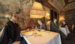 EEUU: Restaurante usa maniquíes para concientizar aplicación de distancia social