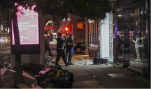 Estados Unidos: comienzan los primeros saqueos tras cinco días de protestas