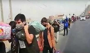 Estado de emergencia: cientos se desplazan para regresar a su ciudad de origen