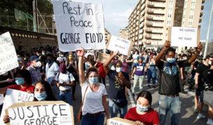 Protestas por muerte de George Floyd se extiende a varios países