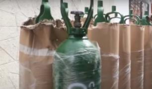 Barranco: clausuran local donde vendían oxígeno industrial como medicinal