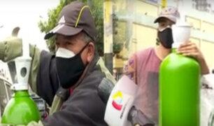 Se dispara alarmantemente el precio del balón de oxígeno en plena pandemia