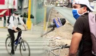 Esta es la realidad de las ciclovías en tiempos de pandemia