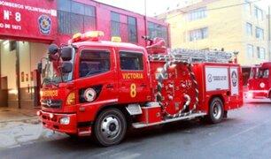 Municipalidad de La Victoria donó elementos nuevos de protección a bomberos