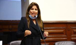 Carmen Omonte presenta su renuncia irrevocable a la bancada de Alianza para el Progreso