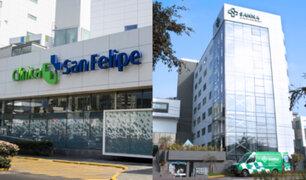 Clínica San Felipe y SANNA San Borja aseguran que no han cobrado por pruebas moleculares