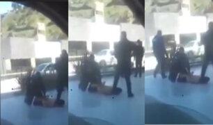 México: vídeo aficionado captó el momento en que un policía asfixió hasta la muerte a un detenido