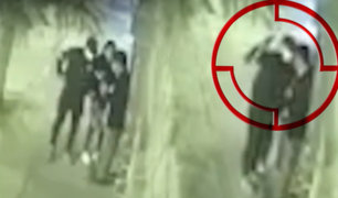Cámaras de seguridad registran violentos robos en Chorrillos