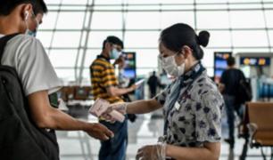 China: aerolíneas extranjeras podrán volar una vez por semana