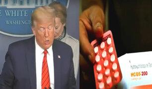 Trump tendría buena salud pese a tener obesidad y seguir tratamiento con hidroxicloroquina