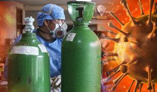 Gobierno busca declarar al oxígeno de interés nacional ante alta demanda