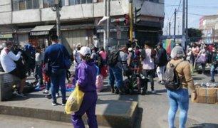 Ministro de Defensa desestimó traslado de ambulantes a galerías de Gamarra por el momento