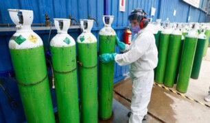 Covid-10: alquilan balones de oxígeno por internet a precios exorbitantes