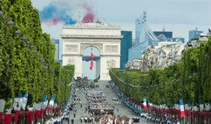 Francia: cancelan tradicional desfile militar del Día de la Bastilla