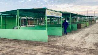 Lambayeque: ambulantes tendrán tres mil puestos gratis en mercado mayorista