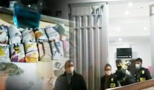 SMP: se comercializaba droga al interior de un local de venta de productos de primera necesidad