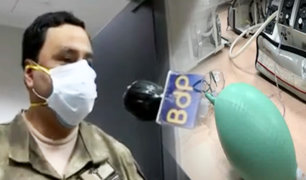 Hospital Naval: así operarán los 30 ventiladores mecánicos donados por el Gobierno alemán